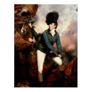 Colonel Banastre Tarleton  1782 Postcard