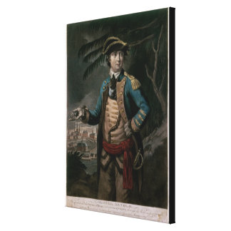 Colonel Benedict Arnold, pub. London, 1776 Canvas Print