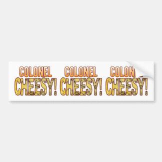 Colonel Blue Cheesy Bumper Sticker
