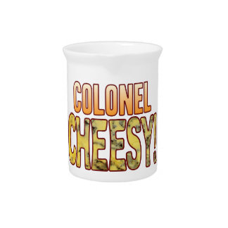 Colonel Blue Cheesy Drink Pitcher