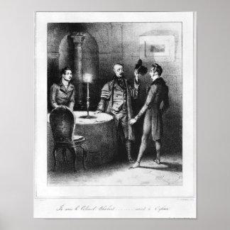 Colonel Chabert, illustration 'Le Colonel Poster