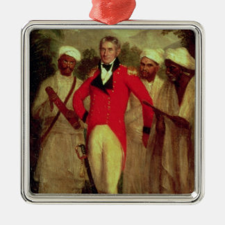 Colonel Colin Mackenzie and his Indian pandits Metal Ornament
