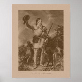 Colonel Davy Crockett Posters