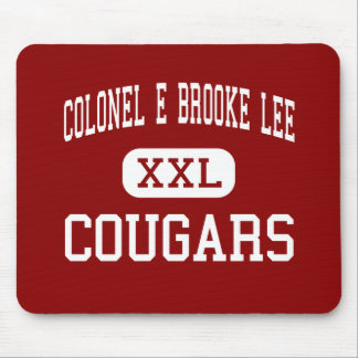 Colonel E Brooke Lee - Cougars - Silver Spring Mouse Pad