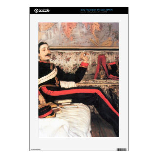 Colonel Frederick Gustavus Burnaby by James Tissot PS3 Decal