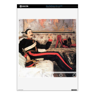 Colonel Frederick Gustavus Burnaby by James Tissot Skins For The PS3 Slim