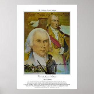 Colonel James Madison Citizen Soldier Poster