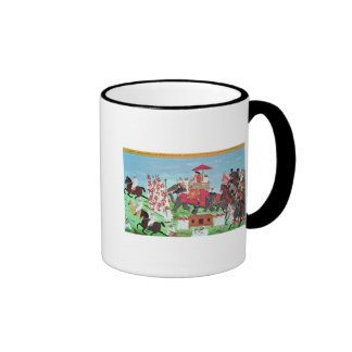Colonel James Todd travelling by elephant Mugs