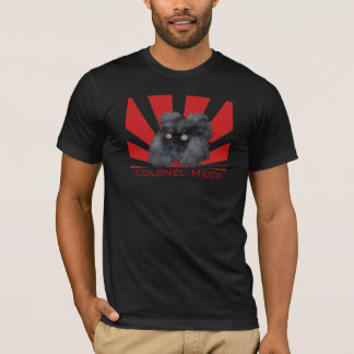Colonel Meow Rising T-Shirt