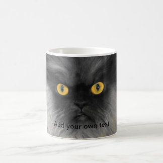 Colonel Meow Yellow Eyes Coffee Mug