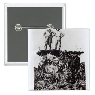 Colonel Roosevelt and Colonel Rondon at Navaite Pinback Button