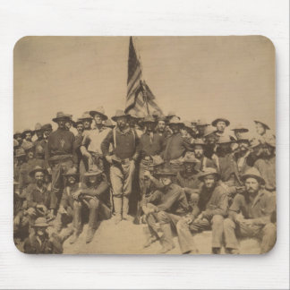Colonel Roosevelt and his Rough Riders Mousepad