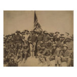 Colonel Roosevelt and his Rough Riders Poster