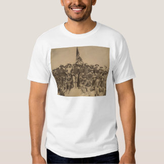 Colonel Roosevelt and his Rough Riders Tee Shirt