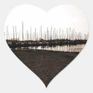 Colonel Sam Smith Park Marina Heart Sticker