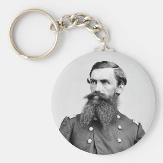 Colonel Strother, 3rd WV Cavalry, 1860s Keychain