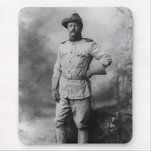 Colonel Teddy Roosevelt Mouse Pad