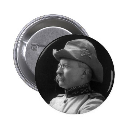 Colonel Theodore Roosevelt from 1898 Buttons