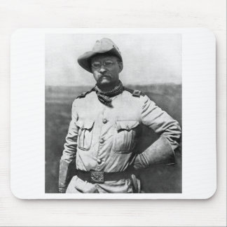 Colonel Theodore Roosevelt Mouse Pad