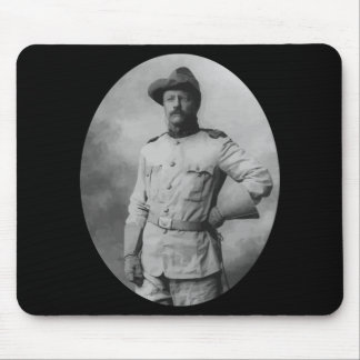 Colonel Theodore Roosevelt Mousepads