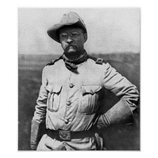 Colonel Theodore Roosevelt Posters