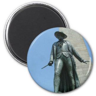 Colonel William Prescott 2 Inch Round Magnet