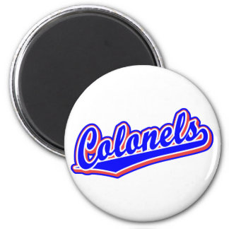 Colonels in Blue and Red Magnets