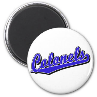 Colonels in Blue Magnets