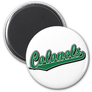 Colonels in Green Refrigerator Magnets