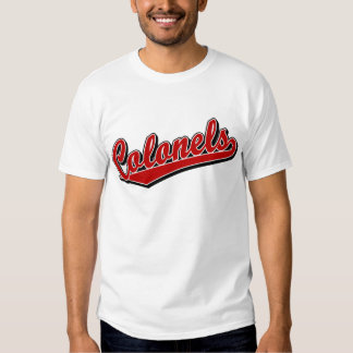 Colonels in Red T Shirt