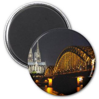 Colonia, Alemania Imán Redondo 5 Cm