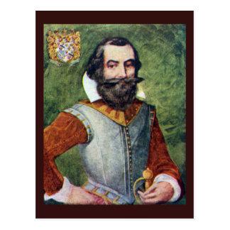 Colonia de capitán John Smith Jamestown Tarjetas Postales