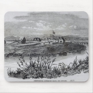 Colonia de Christchurch, Cantorbery, Nueva Zelanda Alfombrilla De Ratones