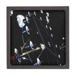 Colonia de la estación espacial - viva en espacio caja de recuerdo de calidad