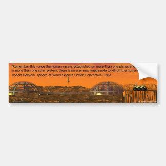 Colonia de Marte Pegatina Para Auto
