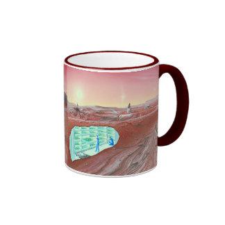 Colonia de Marte Taza De Café
