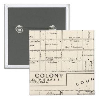 Colonia de Nevada Pin Cuadrado