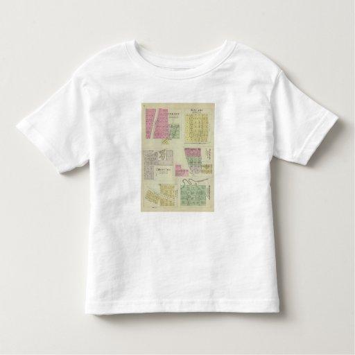 Colonia, Kincade, Mont Ida, y Westfalia, Kansas T-shirt