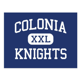 Colonia Knights Middle Colonia New Jersey Postcard