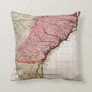 Decorative Pillows With States : United States Map Pillows - Decorative & Throw Pillows Zazzle