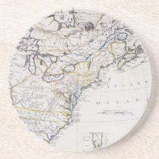 COLONIAL AMERICA: MAP, c1770 Coaster