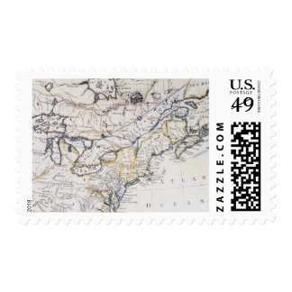 COLONIAL AMERICA: MAP, c1770 Postage