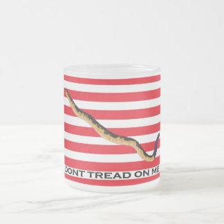 colonial american flag mug