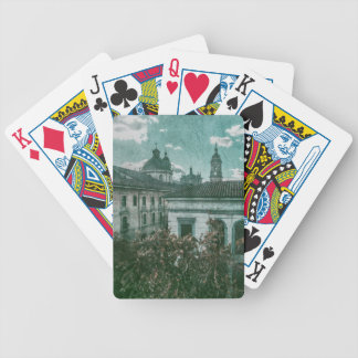 Colonial Architecture at Historic Center of Bogota Bicycle Playing Cards