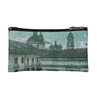 Colonial Architecture at Historic Center of Bogota Cosmetic Bag