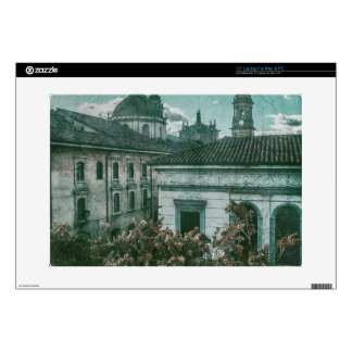 Colonial Architecture at Historic Center of Bogota Decal For Laptop