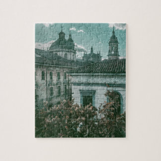 Colonial Architecture at Historic Center of Bogota Jigsaw Puzzle