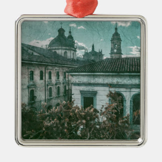 Colonial Architecture at Historic Center of Bogota Metal Ornament