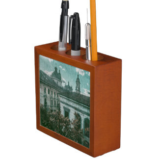 Colonial Architecture at Historic Center of Bogota Pencil Holder