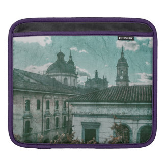 Colonial Architecture at Historic Center of Bogota Sleeves For iPads